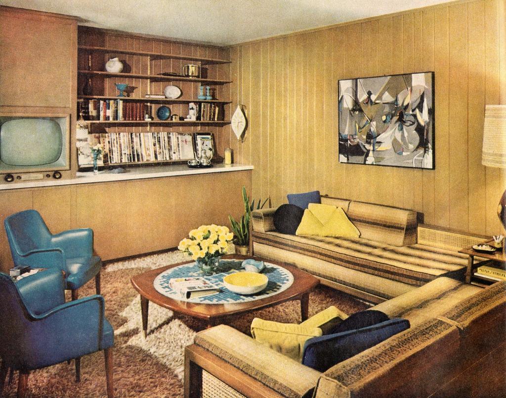 Styl mid-century modern we wnętrzach