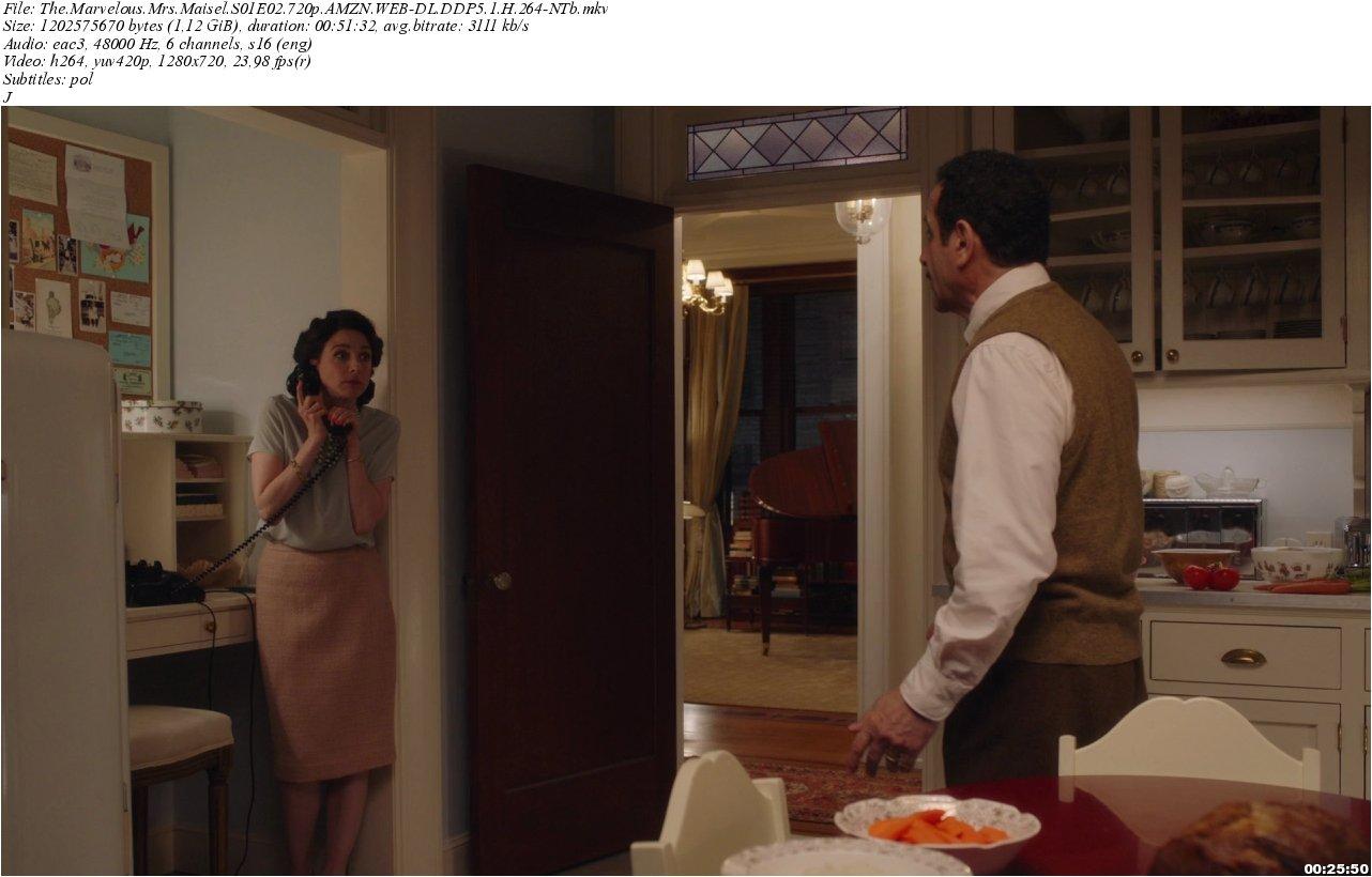 The Marvelous Mrs. Maisel wnętrza z serialu