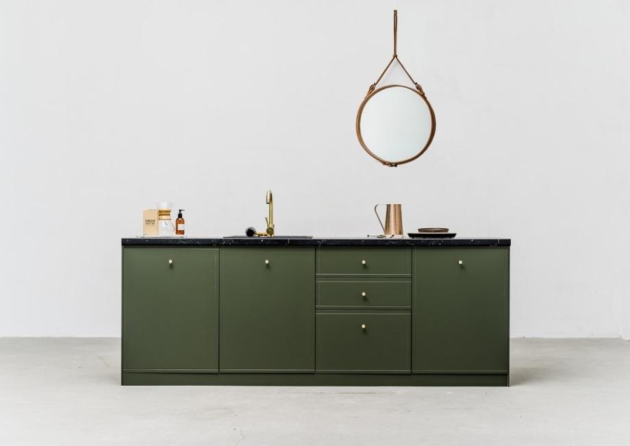 Zielona kuchnia. Najmodniejszy kolor szafek kuchennych