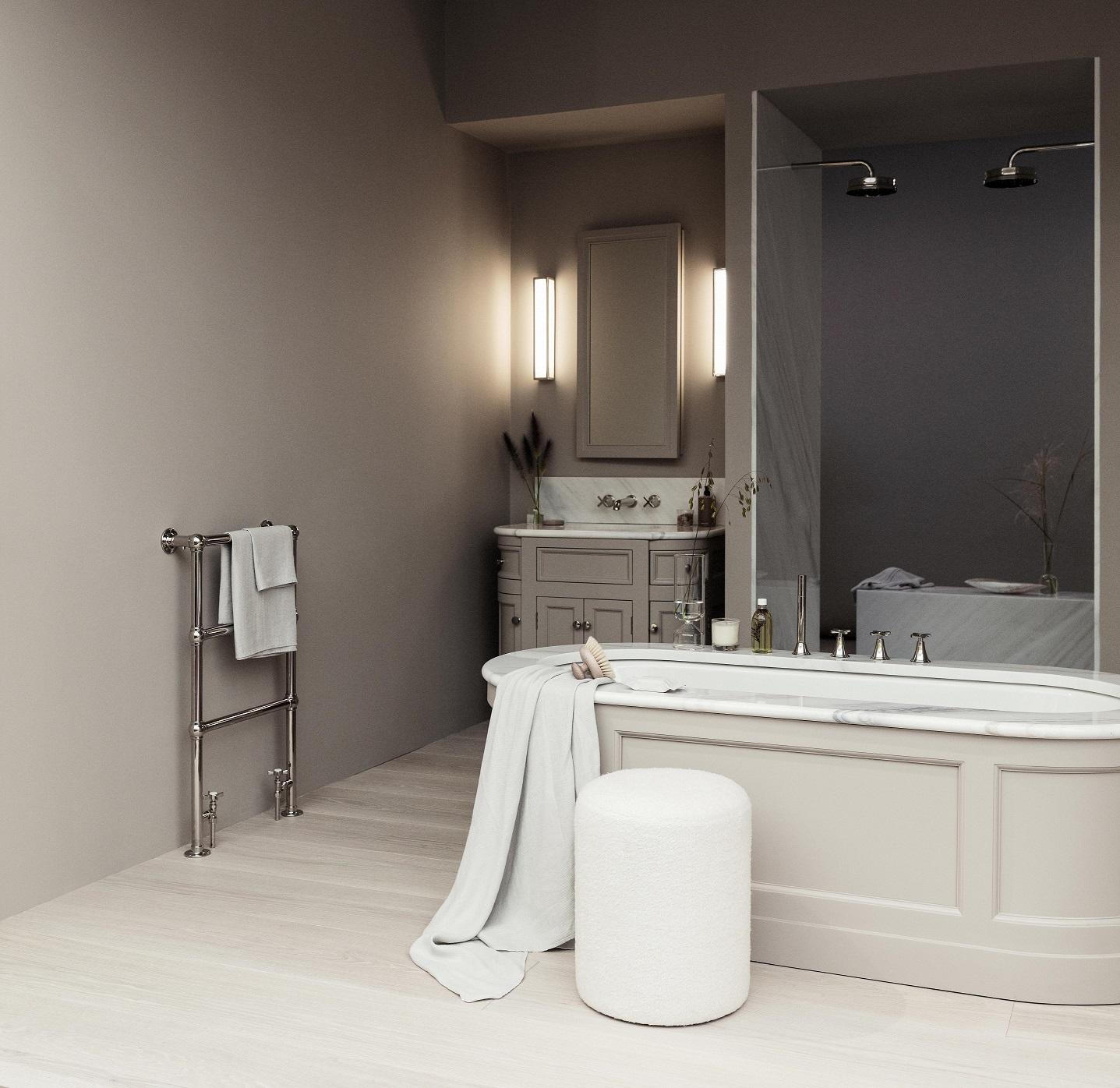 Co zamiast płytek na ściany w łazience