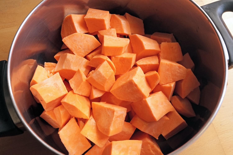 Puree z batatów - sprawdzony przepis na słodkie ziemniaki