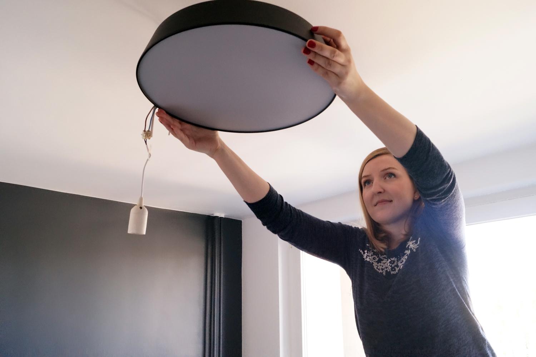 Jaką lampę wybrać do sypialni? Mój wybór lampy sufitowej
