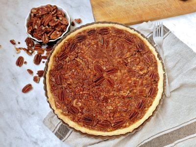 Przepis na Pecan Pie, czyli ciasto z pekanów - kuchnia amerykańska