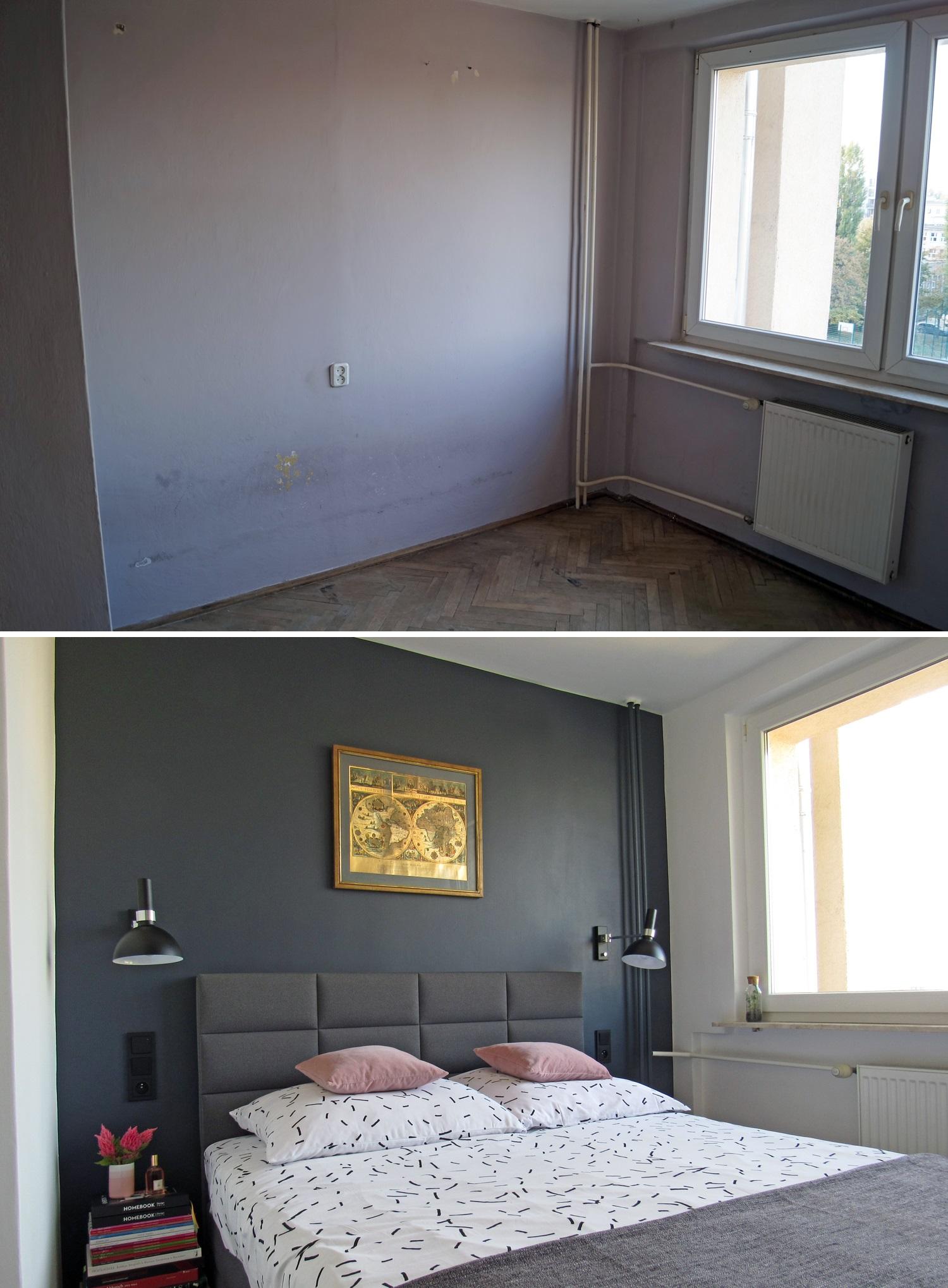 Metamorfoza sypialni w bloku. Moja nowa oaza wypoczynku