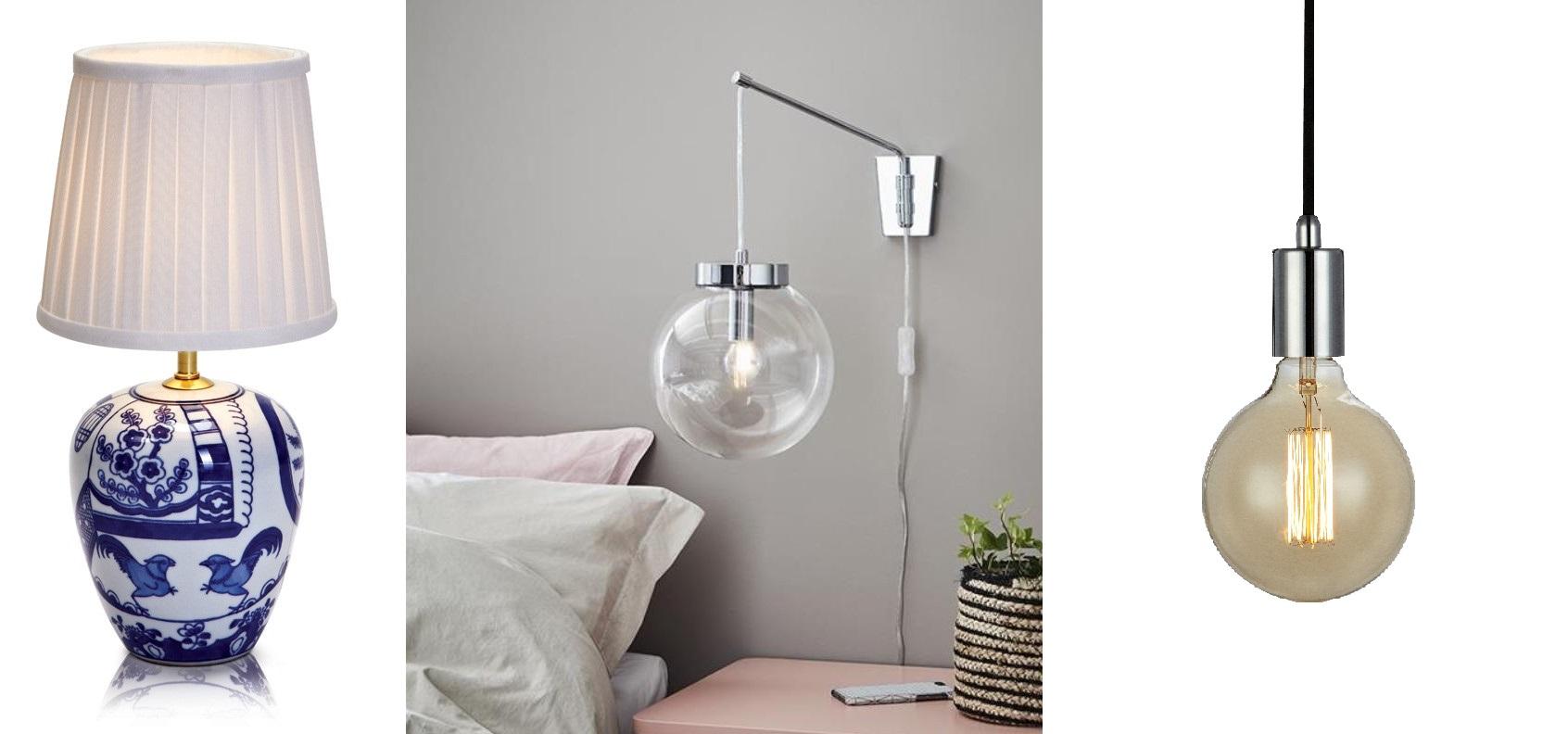 Jakie oświetlenie wybrać do sypialni? Moje lampy
