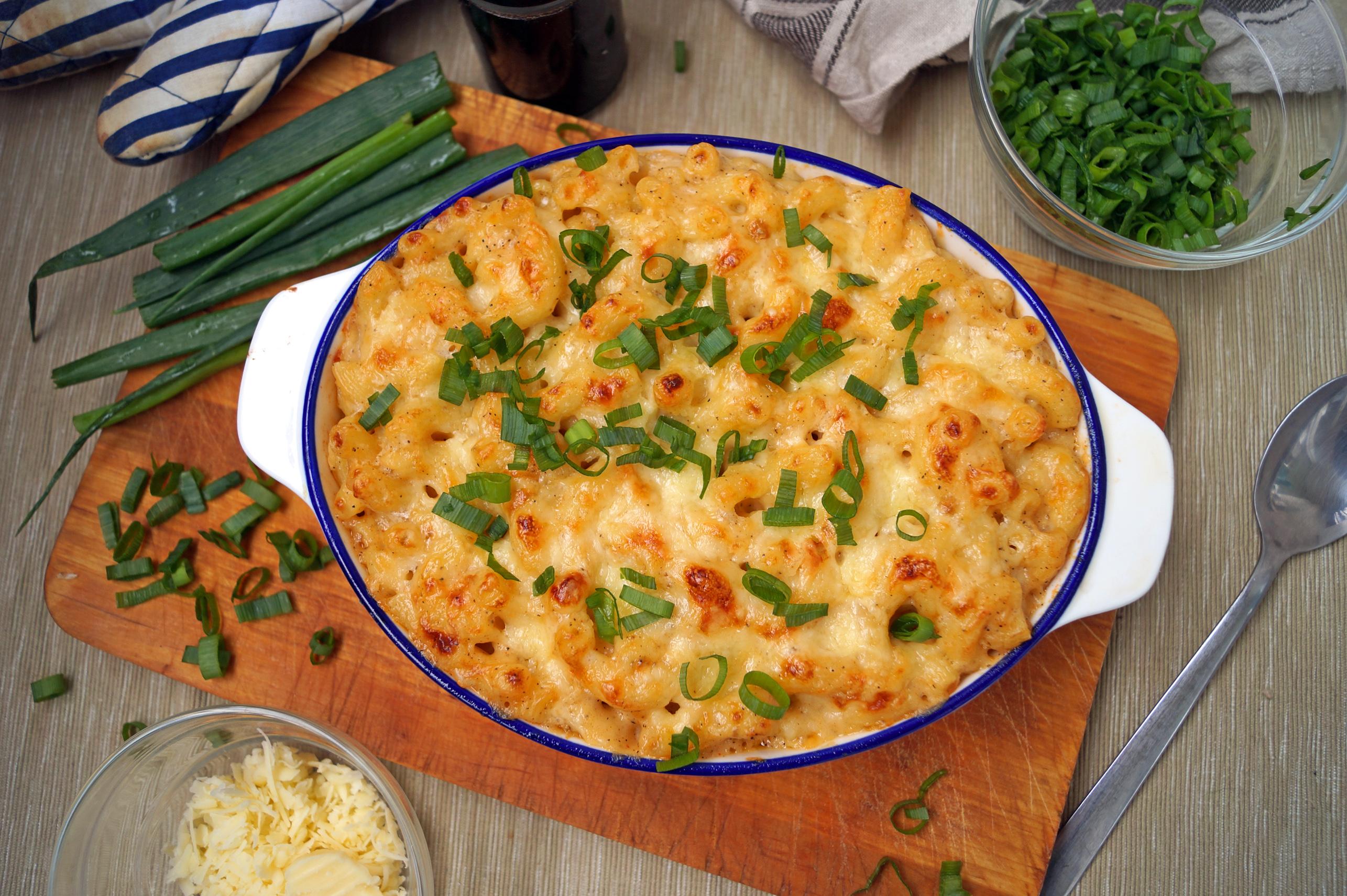 Makaron z serem po amerykańsku, czyli macaroni and cheese