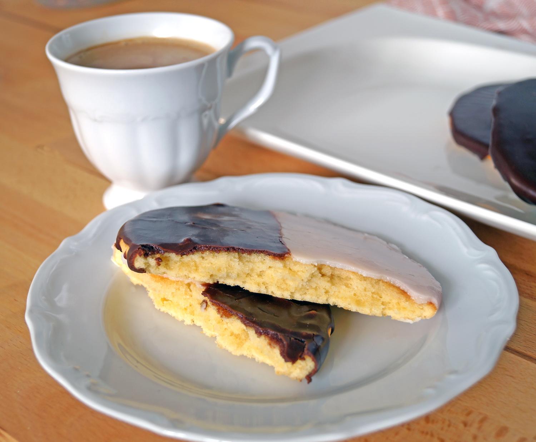 Black and white cookies, czyli biało-czarne ciastka - nowojorski klasyk