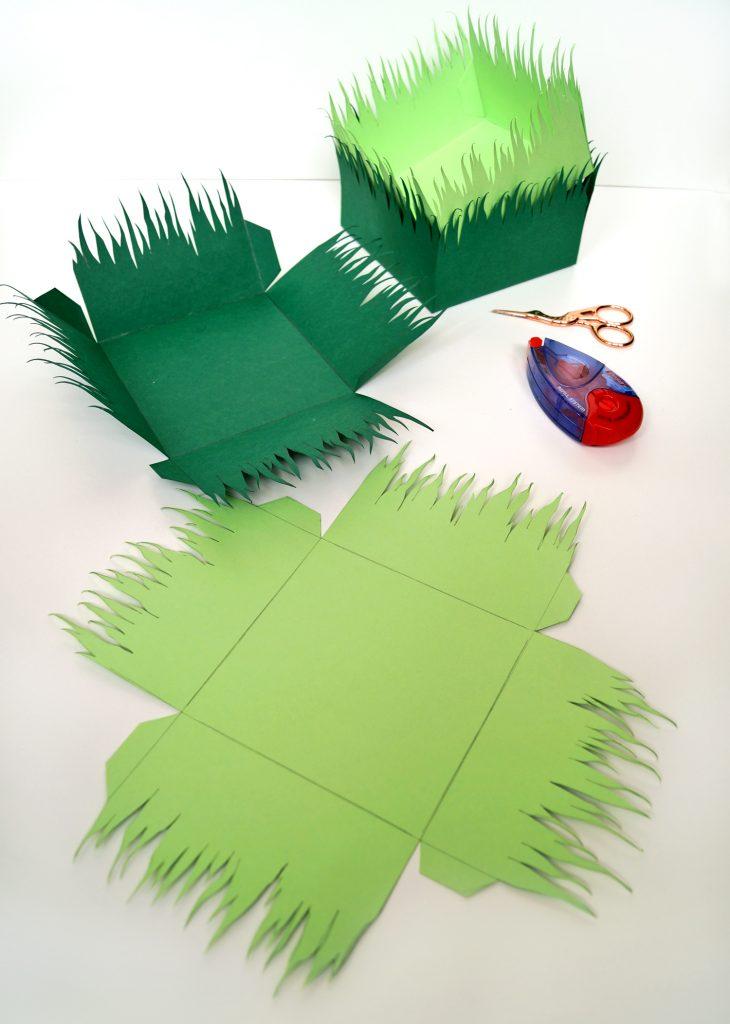 Ozdoby wielkanocne z papieru. Dekoracja na stół i nie tylko