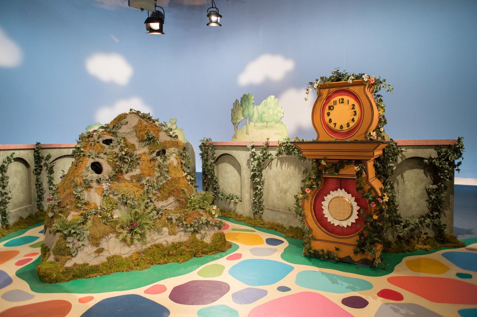 """""""Cóż za piękny dzień"""": na planie programu telewizyjnego dla dzieci"""
