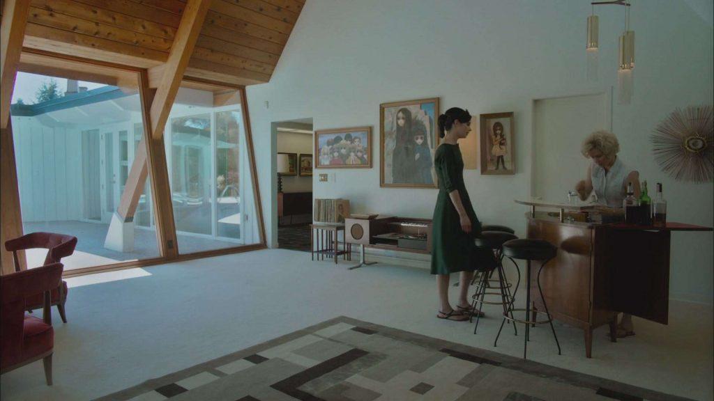 """Dom z filmu """"Wielkie oczy"""" Tima Butrona to perełka stylu mid-century modern"""