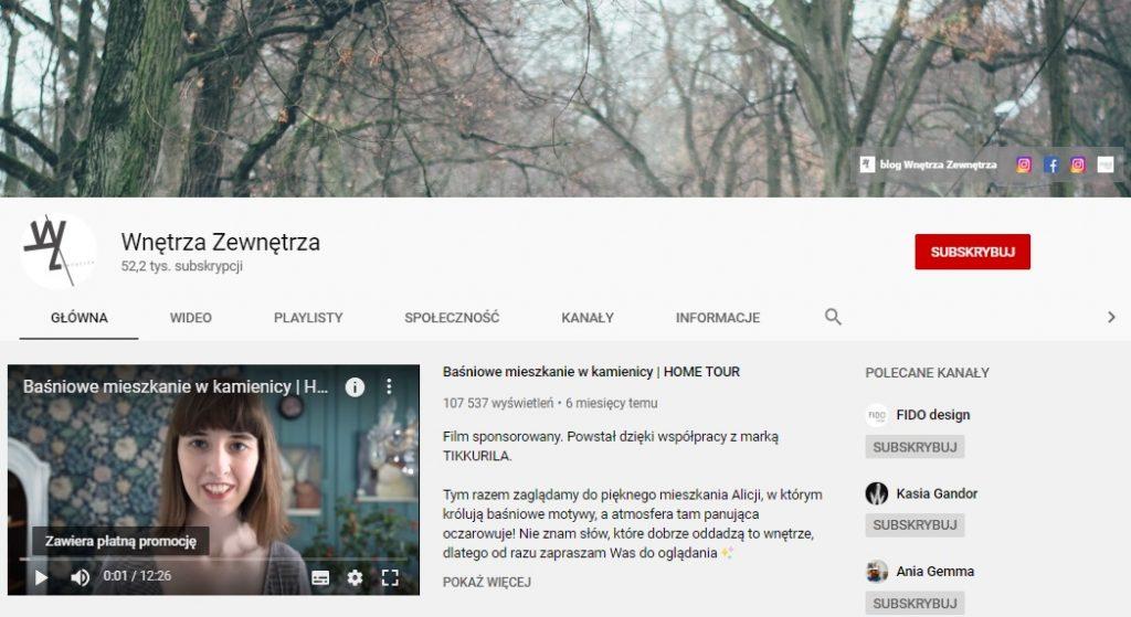 5 wnętrzarskich kanałów na Youtube'ie, które warto oglądać