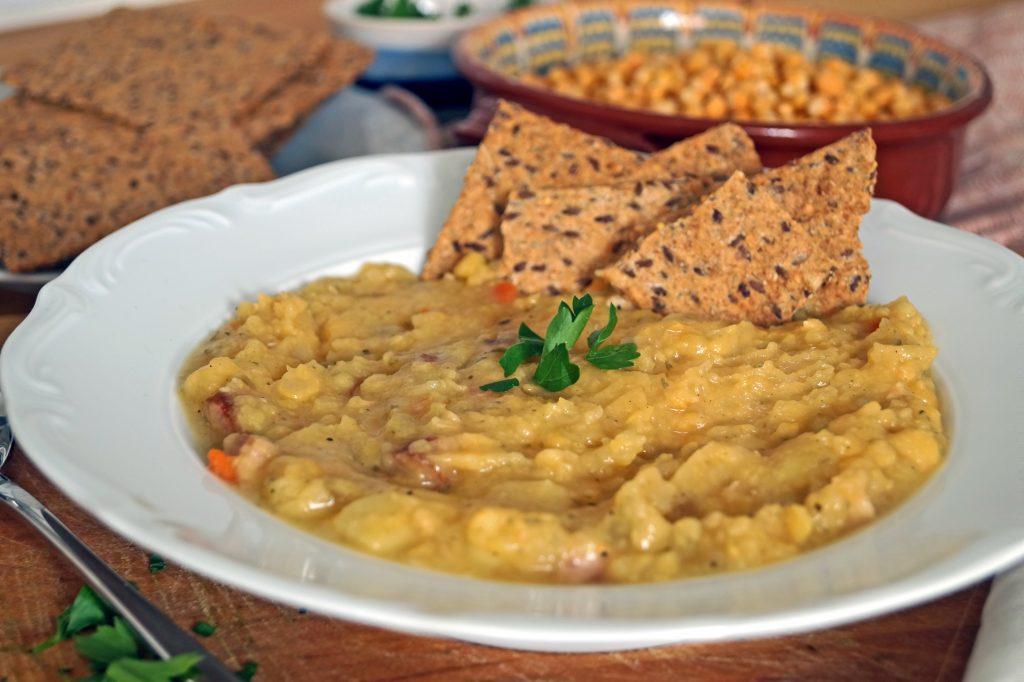 Grochówka po szwedzku - przepis na zupę grochówkę