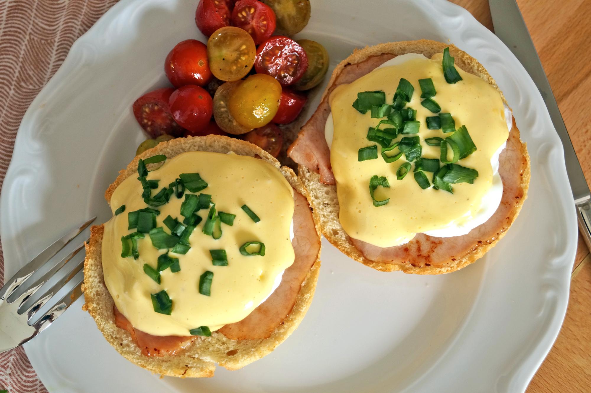 Jajka po benedyktyńsku przepis