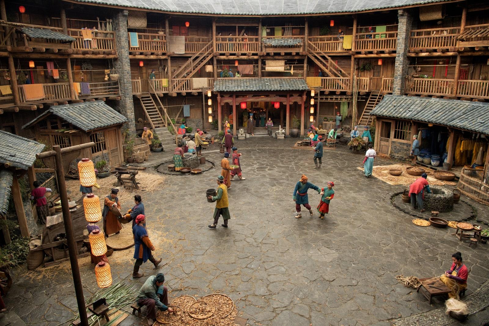"""Niezwykła scenografia filmu """"Mulan"""". Jak i gdzie powstała?"""