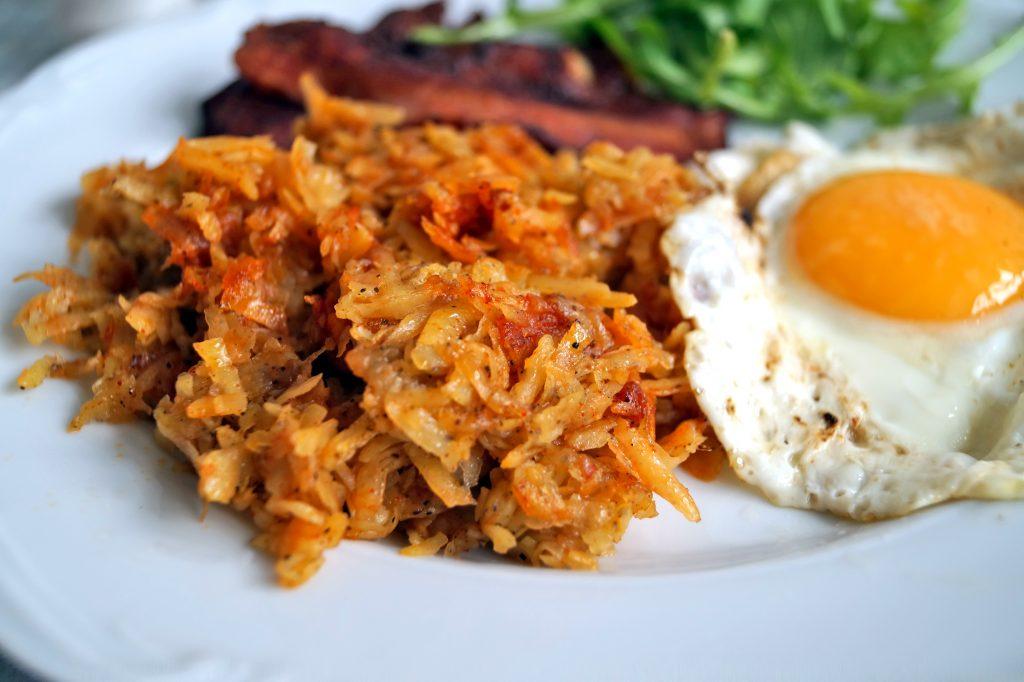 Hash browns, czyli ziemniaki na śniadanie w amerykańskim stylu
