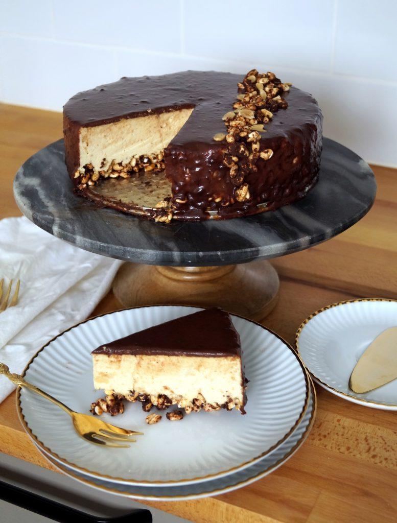 Ciasto z masła orzechowego bez pieczenia - przepis