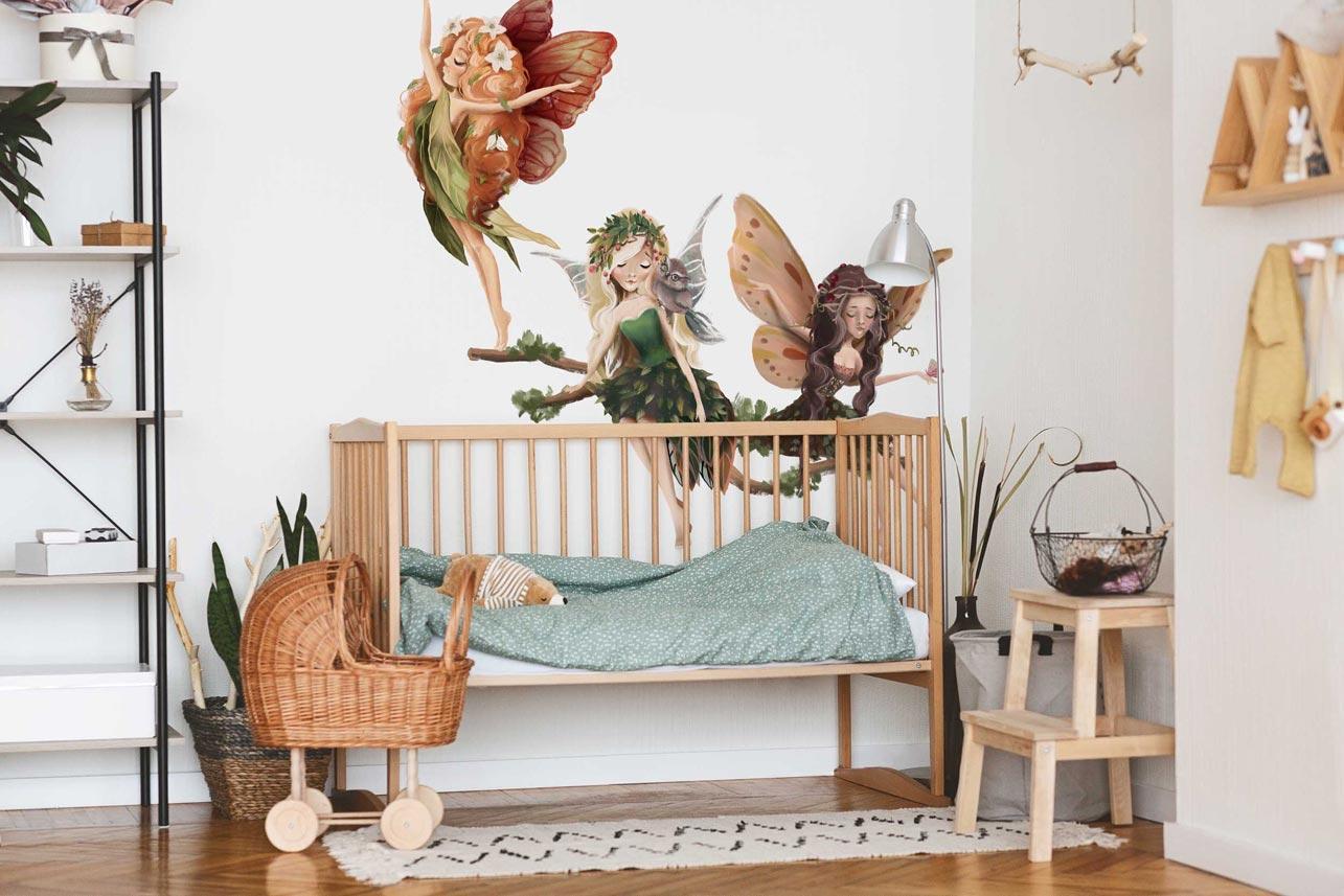 Naklejki na ścianę - jak urządzić wymarzony pokój dziecka?