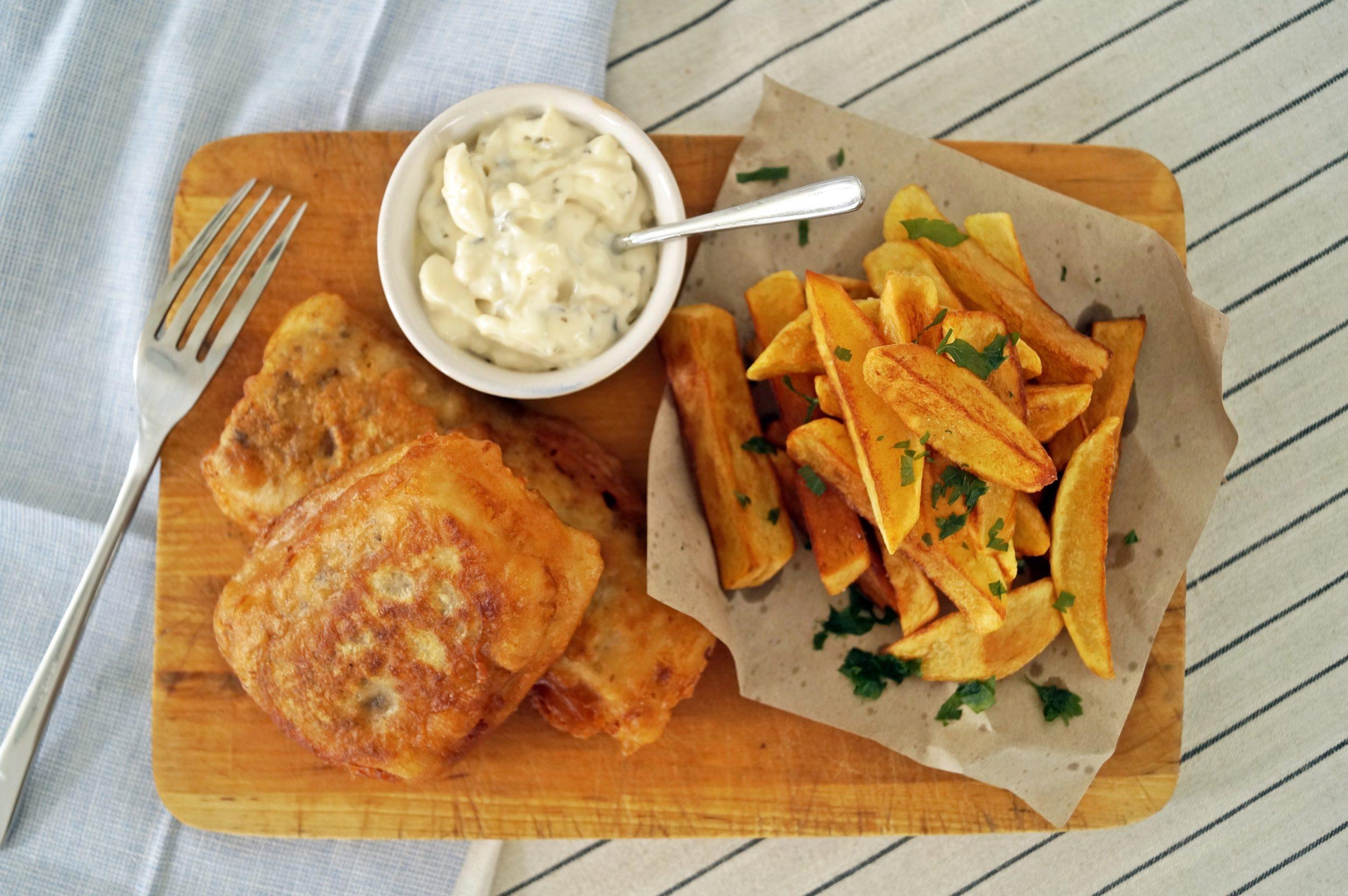 Idealne fish & chips. Sprawdzony przepis prosto z Anglii