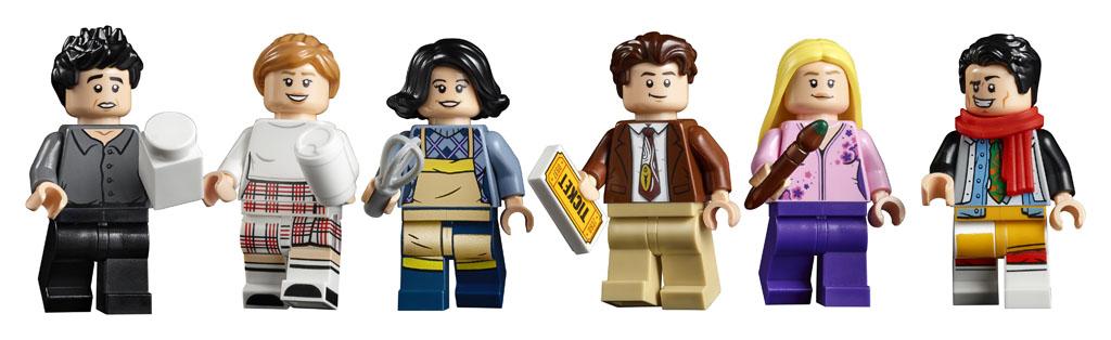 """Nowość od LEGO: Mieszkania z serialu """"Przyjaciele"""""""