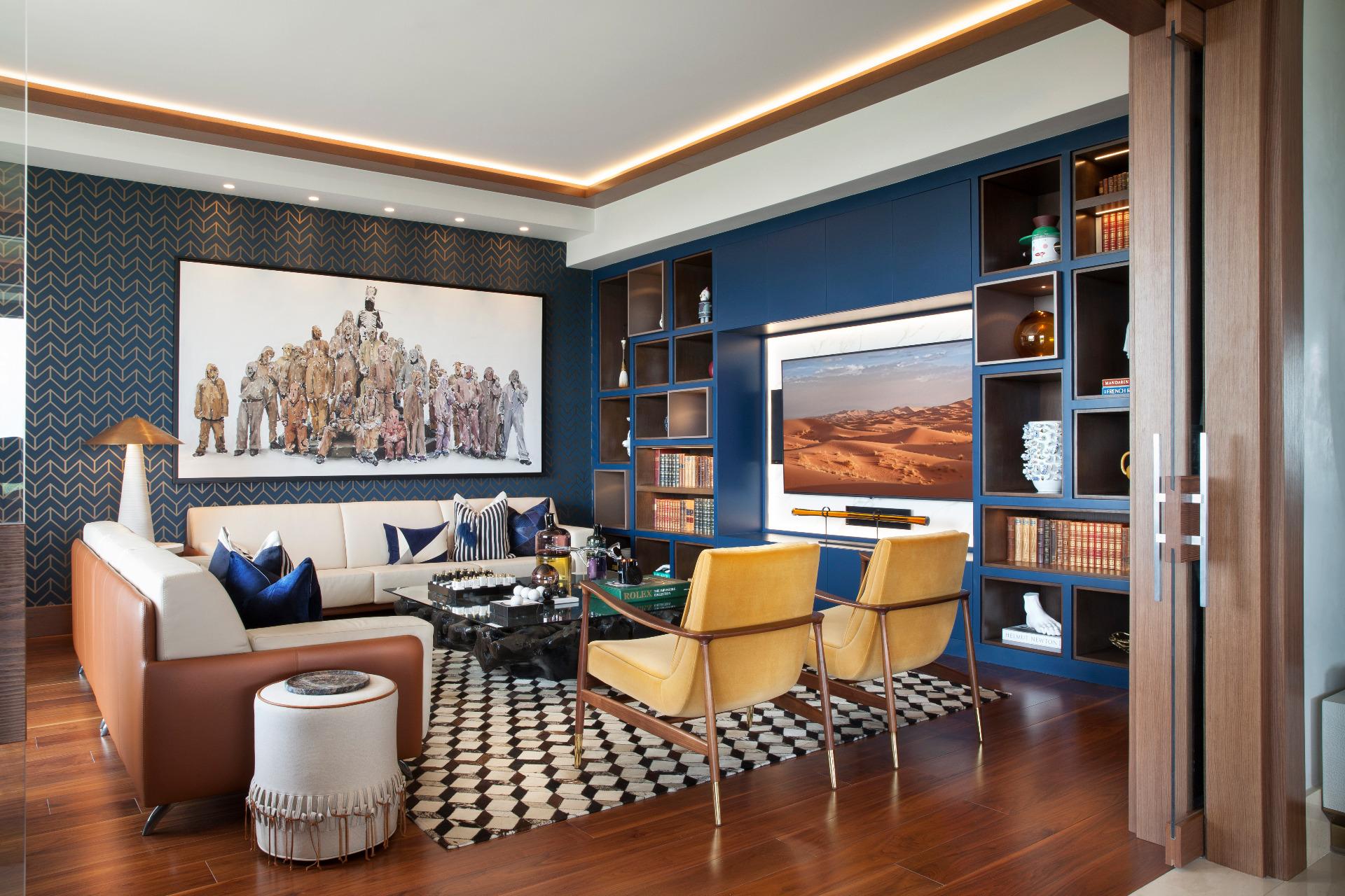 Modne pomysły na dekoracje ścian w salonie. Trzy nowoczesne rozwiązania