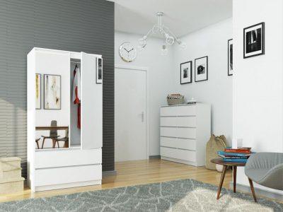Duża szafa alternatywą dla garderoby?