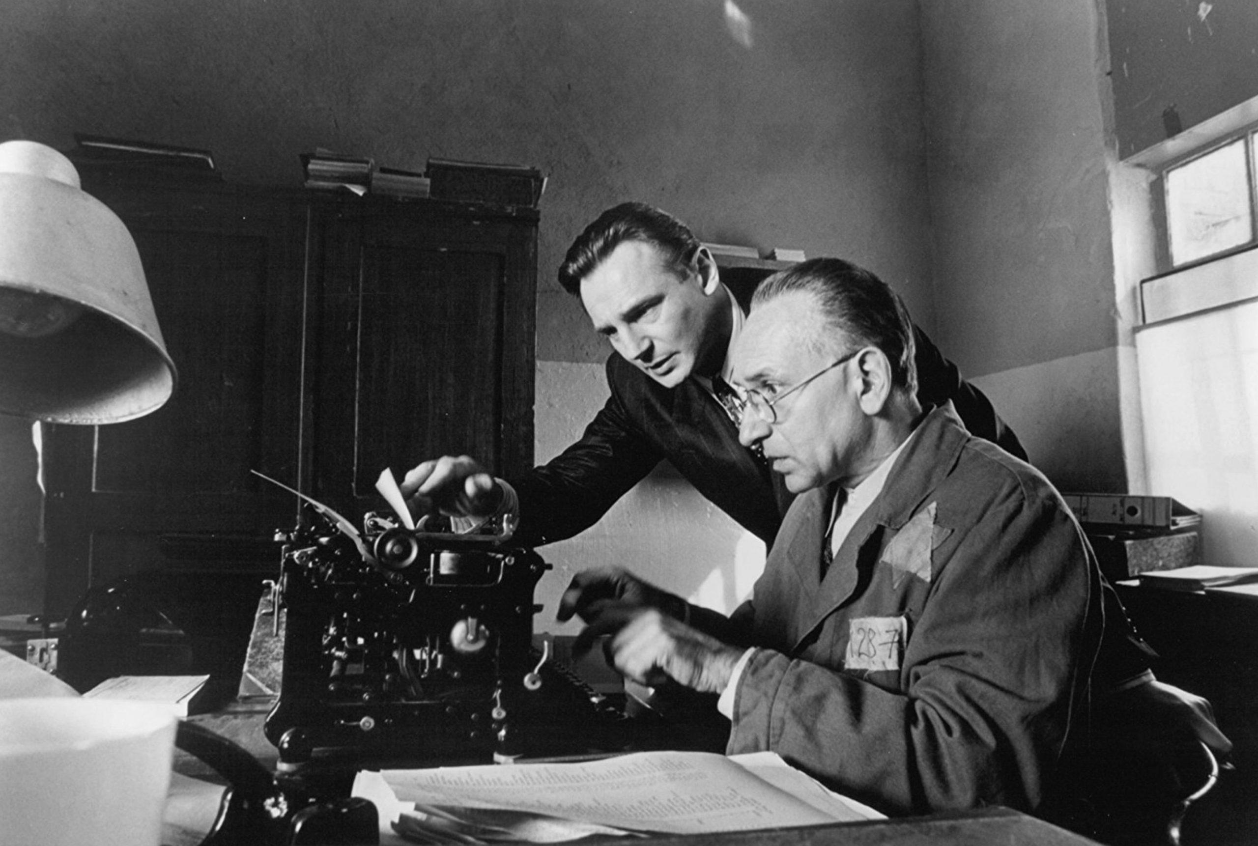 Filmy biograficzne: Lista Schindlera